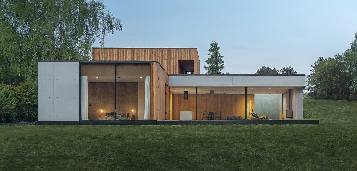 Dom nad rezerwatem – świetna realizacja studio de.materia