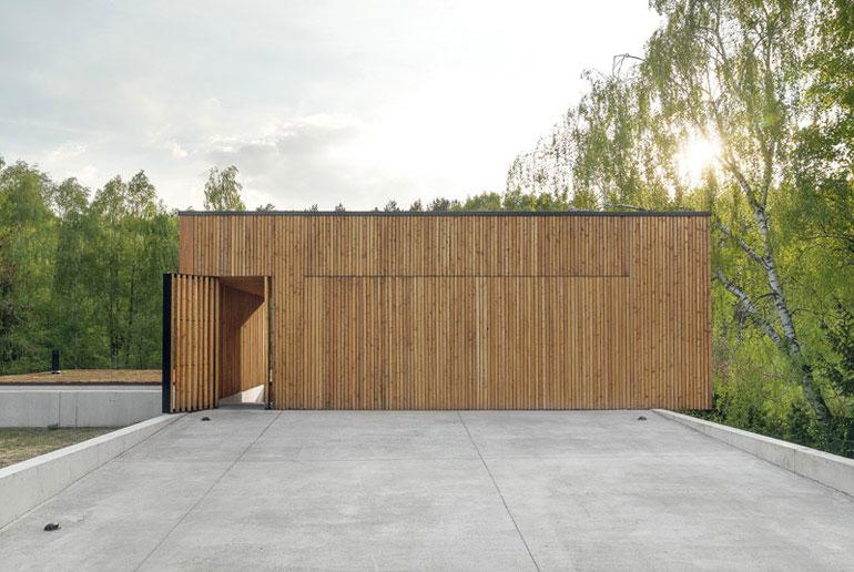 Dom JRv2 w Poznaniu. Projekt: studio de.materia