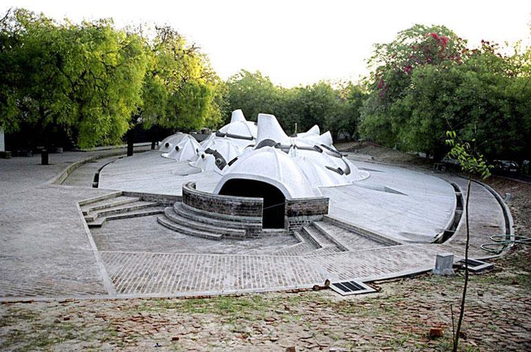 Amdavad Ni Gufa, Ahmedabad, Indie. Zdjęcie dzięki uprzejmości VSF
