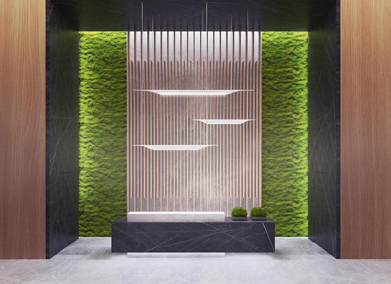 Eco Warsaw Tower. Projekt: BXBstudio Bogusław Barnaś. Wnętrza: BXBstudio & LOOMA interior design