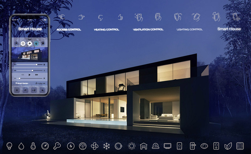 Smart House. Projekt: BXBstudio Bogusław Barnaś