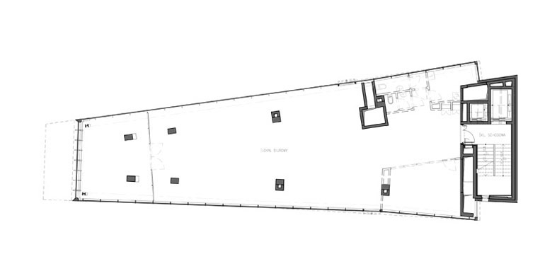 Budynek biurowo–usługowy Piękna 49, Warszawa. Projekt: Grupa 5 Architekci