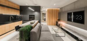 Mieszkanie w Krakowie projektu Hi-Light Architects