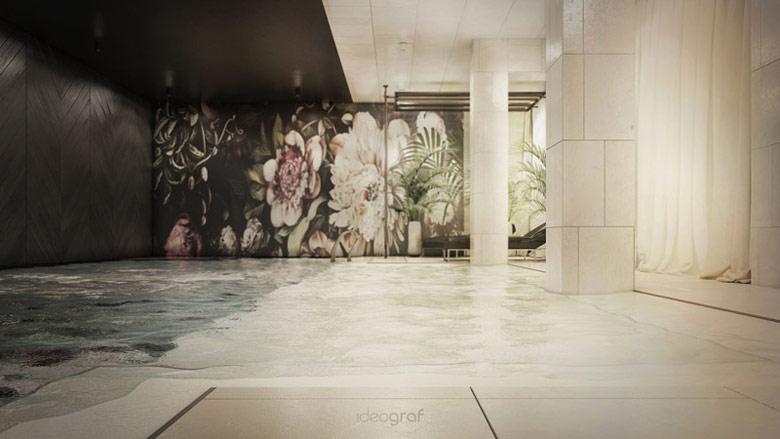 Wnętrza hotelu w Gdańsku. Projekt: Ideograf Paulina Czurak