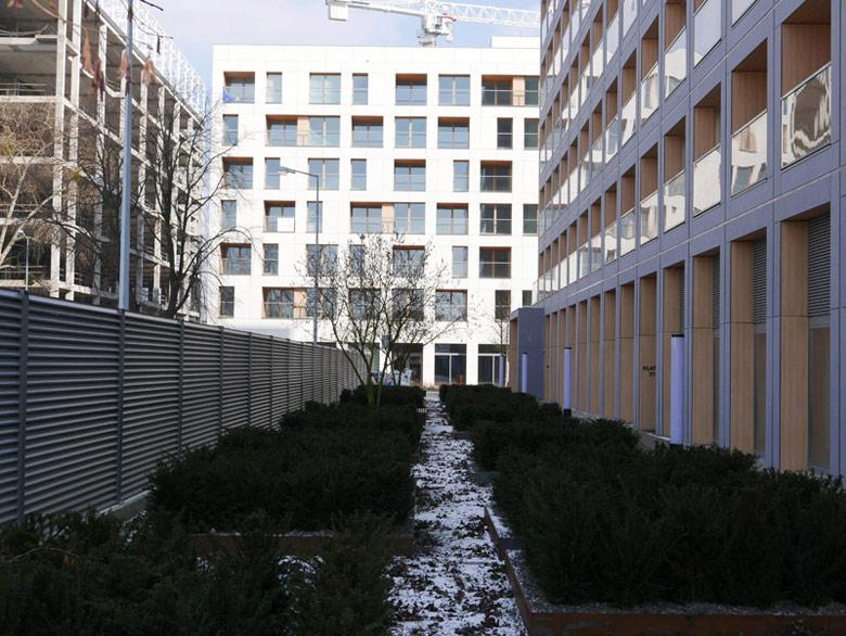 Trzeci etap 19. Dzielnicy - osiedle projektu JEMS Architekci