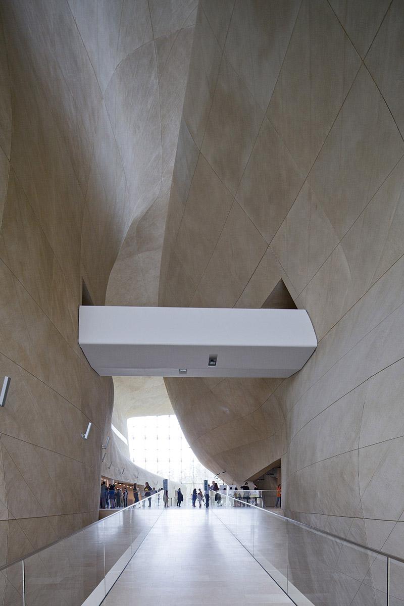 Muzeum Historii Żydów Polskich w Warszawie. Projekt: Rainer Mahlamäki – Lahdelma & Mahlamäki Architects. Zdj. Piotr Krajewski