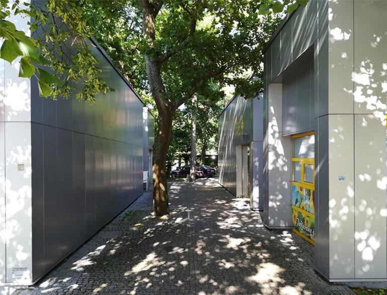 Toaleta miejska w Pobierowie. Projekt: Pracownia Projektowa AKCENT s.c.