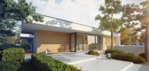 Dom otwarty na naturę projektu STUDIO.O. organic design