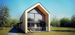 Dom Otwarty w Brwinowie projektu Z3Z Architekci