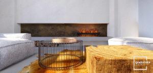 Apartamenty w toskańskim pałacu projektu biura Gradomska Architekci