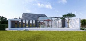 Dom półtorapiętrowy projektu Kluj Architekci – Kreatywne podejście do zapisów planu
