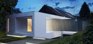 Dom pod Krakowem projektu biura Konzept Architekci