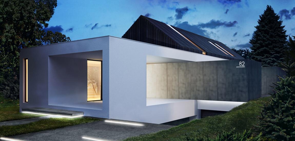 Dom pod Krakowem. Projekt:KONZEPT Architekci | Paweł Rusak