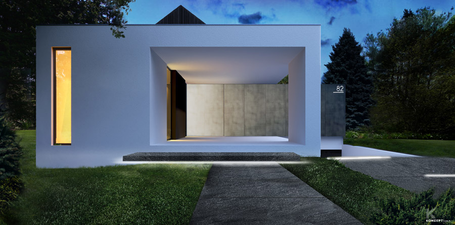 Dom pod Krakowem. Projekt: KONZEPT Architekci | Paweł Rusak