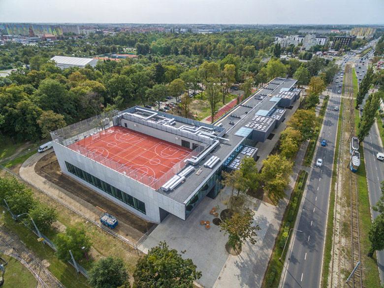 V LO we Wrocławiu. Autorzy projektu: Maćków Pracownia Projektowa. Zdjęcie: Maciej Lulko