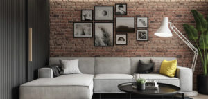 Mieszkanie w bloku w loftowym klimacie projektu Spacja Studio