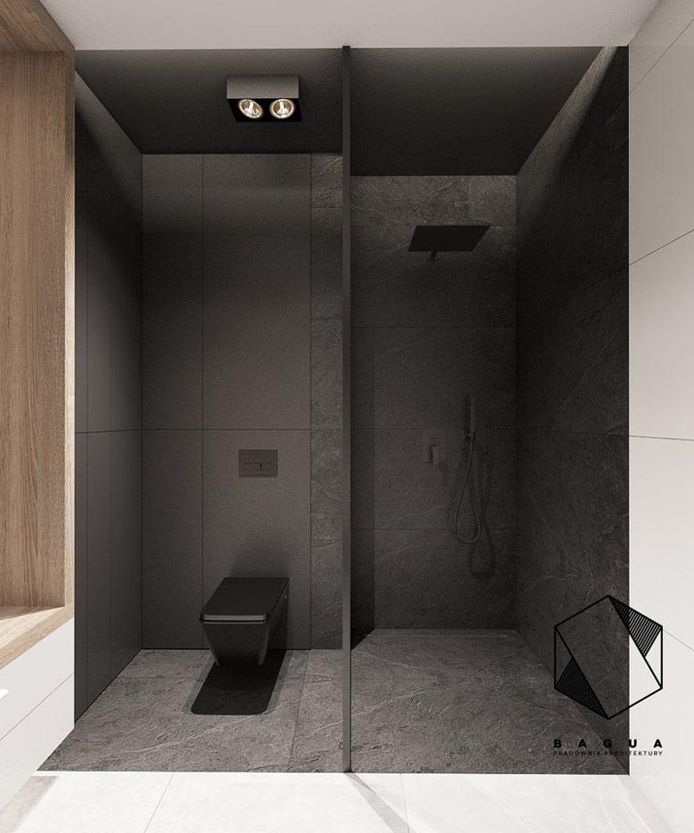 Wnętrza domu w Gliwicach. Projekt: Pracownia Architektury Wnętrz BAGUA