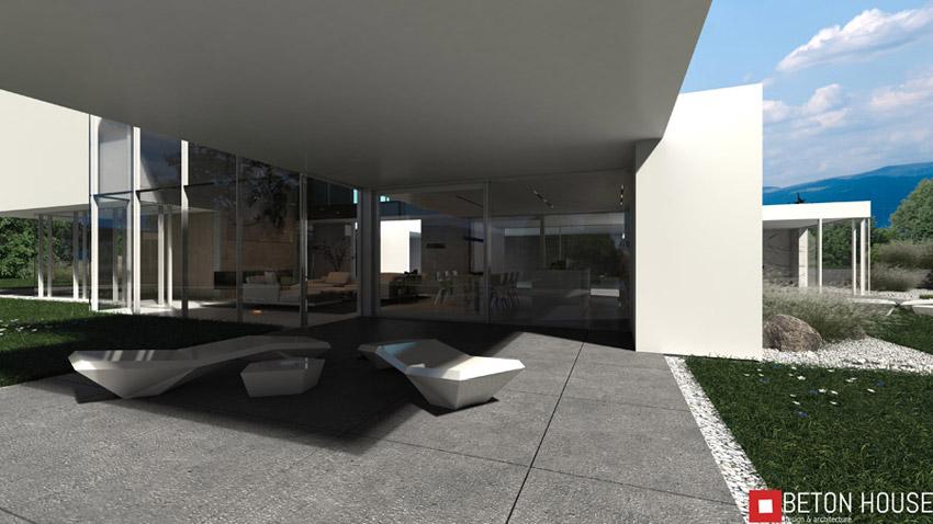 P&P House, okolice Bielska-Białej. Projekt:Beton House | Seweryn Nogalski