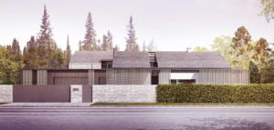 Dom w Kamienicy Polskiej projektu BXBstudio