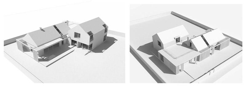 Dom w Kamienicy Polskiej. Projekt:BXBstudio Bogusław Barnaś