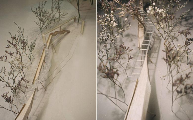 Dyplomy Architektury: Kładka w koronach drzew Projekt: Magda Bykowska