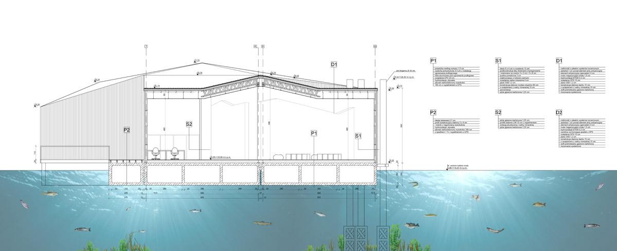 Dyplomy Architektury: Muzeum rzeki Wisły w Kazimierzu Dolnym. Autor: Michał Pieczka