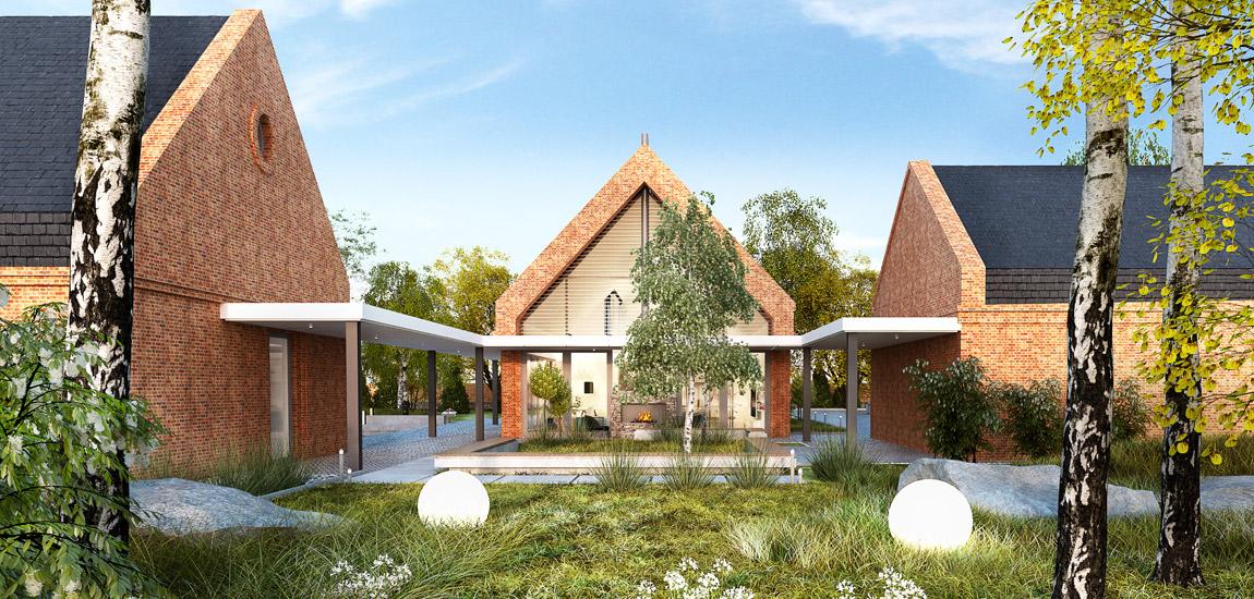 Dom pod Poznaniem. Projekt:Milwicz Architekci