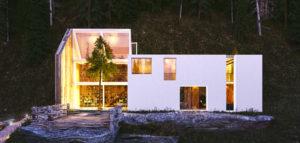 Dom w górach projektu studia ZUP-A
