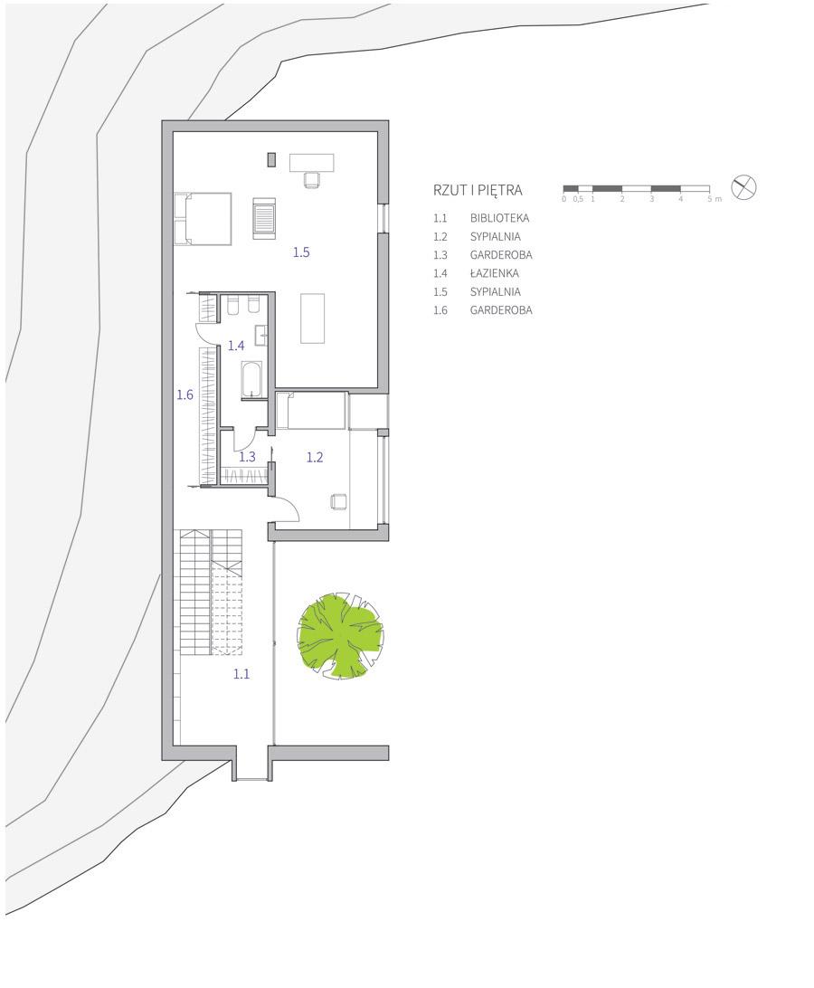 Dom w górach, Krynica-Zdrój. Projekt: ZUP-A | Zakład Usług Projektowo-Architektonicznych