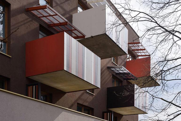 Budynek mieszkalny wielorodzinny w Katowicach. Projektant: AMAYA ARCHITEKCI. Zdjęcie: Tomasz Zakrzewski