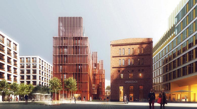 Browary Warszawskie. Projekt: JEMS Architekci
