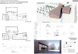 Miejska Biblioteka Publiczna w Szczecinie. I Nagroda w konkursie: kabu studio + APP Karol Barcz