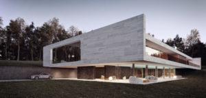 HORIZON – Minimalistyczna willa projektu Mobius Architekci