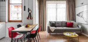 Mieszkanie z loftowym sznytem projektu biura JT Grupa