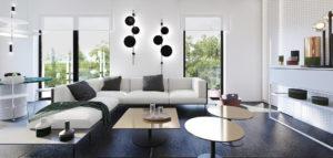 Subtrakt – wnętrza apartamentu projektu KANDO ARCHITECTS