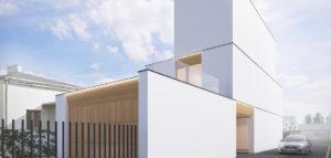 Dom Miejski projektu biura KRES Architekci