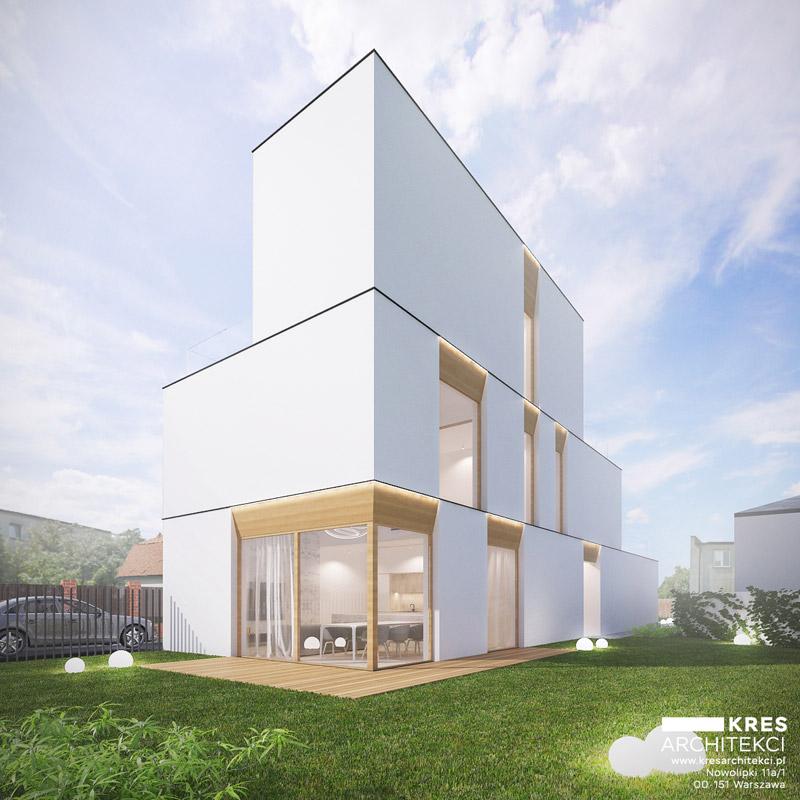 Dom Miejski, Targówek, Warszawa. Projekt: KRES Architekci