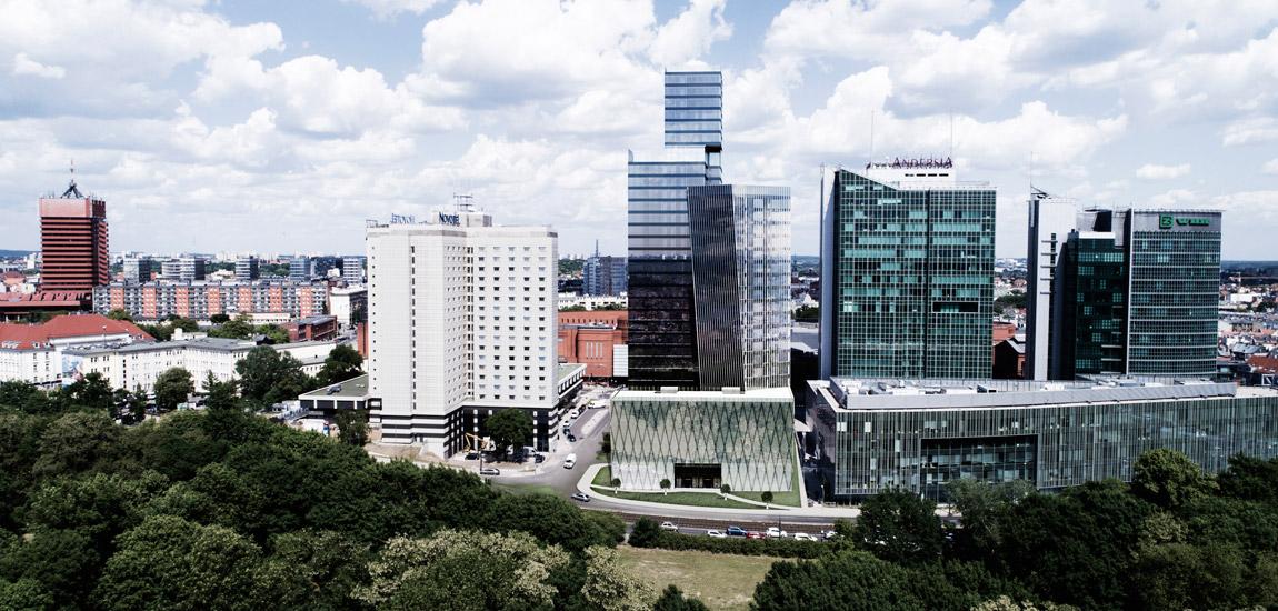 Dyplomy Architektury: downtown ANDERSIA. Projekt: Mikołaj Zajda