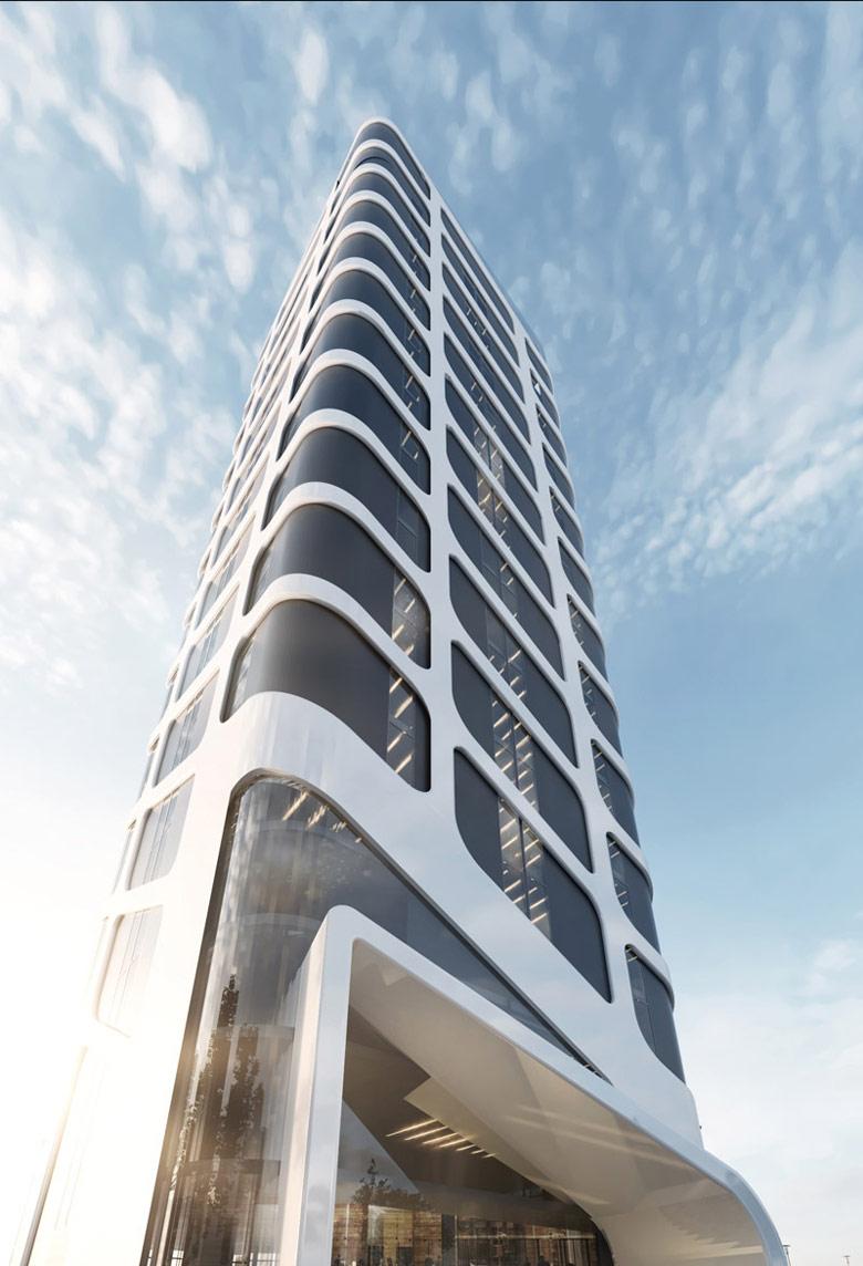 Hotel w Toruniu. Projekt: Milwicz Architekci