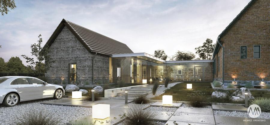 Adaptacja zabytkowych budynków. Projekt: Milwicz Architekci