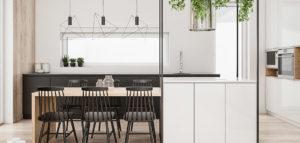 Wnętrza domu w Szwecji projektu Spacja Studio