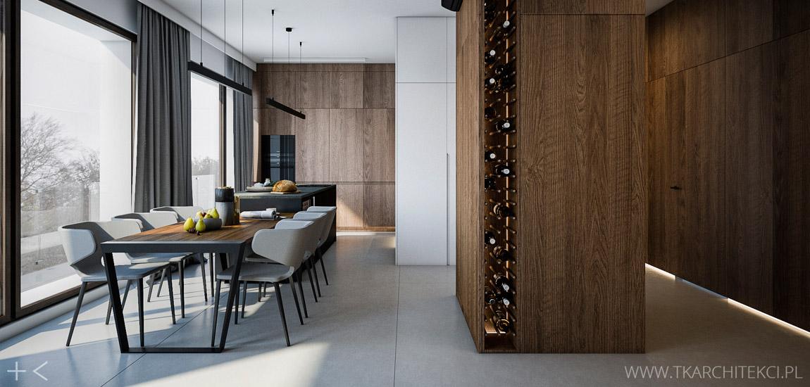 Apartament w Warszawie projektu TK Architekci
