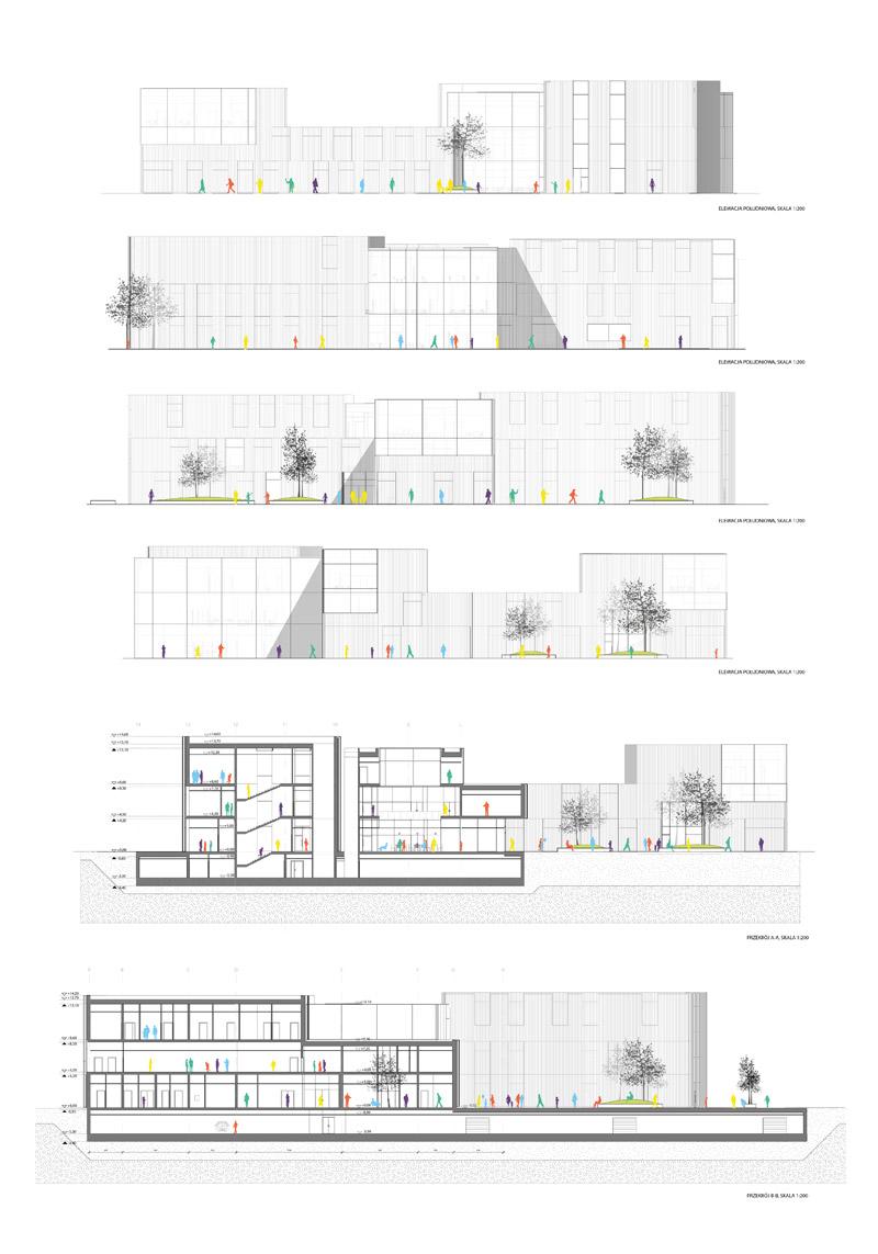 Dyplomy Architektury: Szpital Pediatryczny w Poznaniu. Projekt: Marcin Adamczyk