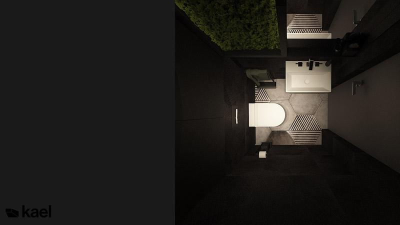 Wnętrza domu w Lublinie. Projekt: kael architekci