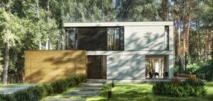 Przebudowa malowniczo położonego domu z lat 60. biura STOPROCENT Architekci