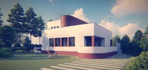 Przebudowa modernistycznej willi z lat 40. projektu biura URBAA-Urbański Architektura i Wnętrza