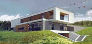 Dom w Szczecinie projektu biura URBAN PROJECT