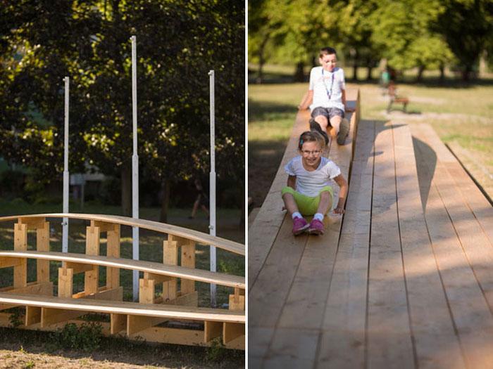 Warsztaty Mood for Wood - pomysły studentów na przestrzeń miejską