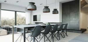 Minimalistyczne wnętrza domu pracowni 081 Architekci