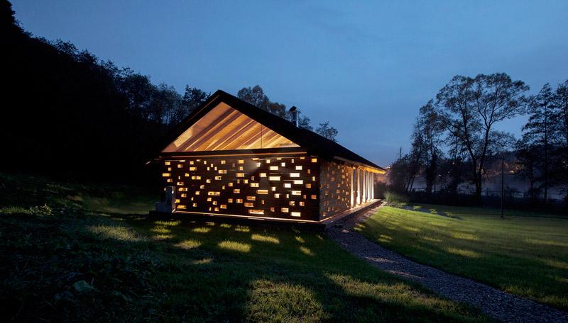 Stodoła Spotkań w Ryglicach. Projekt: BXBstudio Bogusław Barnaś & MOSS Architektura Krajobrazu